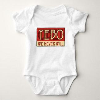 YEBO Logo 1 Baby Bodysuit