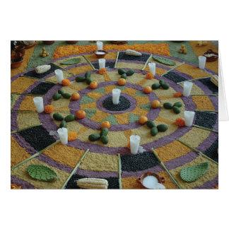 Yecapixtla Day of the Dead Fiesta Altar Pieces Card