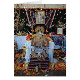 Yecapixtla Day of the Dead Fiesta Card