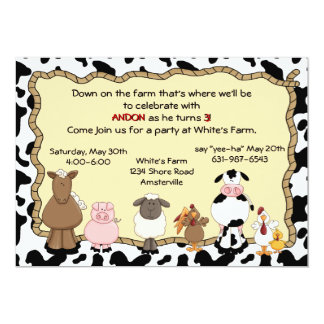 Yee-Ha Farm Invitation