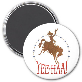 Yee Haa! Rodeo Cowgirl Magnet