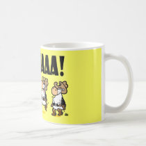 Yee-HAAA! Linedancing Cows Coffee Mug