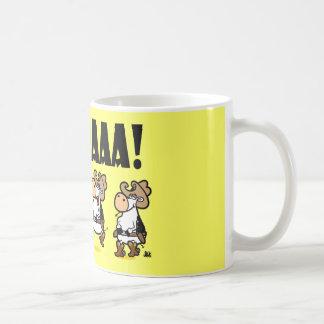 ¡Yee-HAAA Vacas de Linedancing Taza De Café