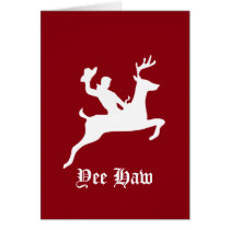Yee Haw Christmas Card