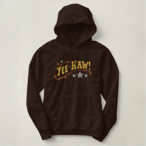 Yee Haw Embroidered Hoodie