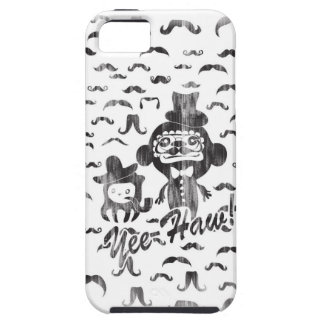 Yee- Haw Goofy Characters with mustaches art. iPhone SE/5/5s Case