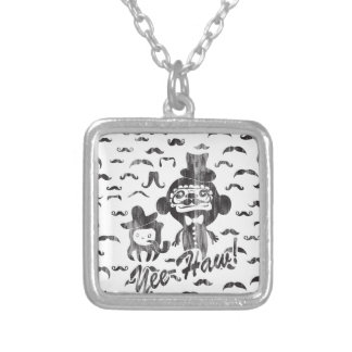 Yee- Haw Goofy Characters with mustaches art Custom Jewelry