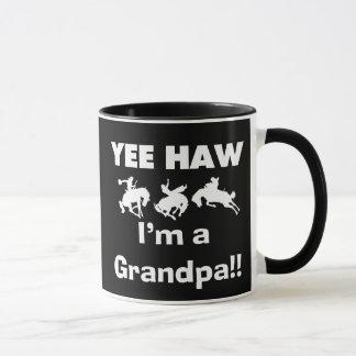 Yee Haw I'm a Grandpa T-shirts and Gifts Mug