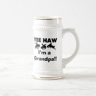 Yee Haw I'm a Grandpa T-shirts and Gifts Coffee Mugs