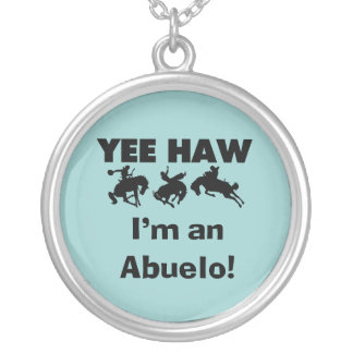 Yee Haw I'm an Abuelo T-shirts and Gifts Necklace