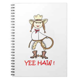YEE HAW! NOTE BOOKS