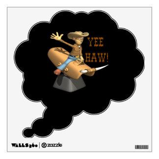 Yee Haw Wall Decal