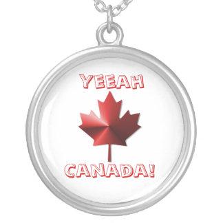 Yeeah Canada Flag Maple Leaf Necklace