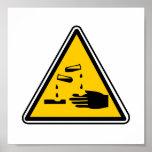 YEECH: Poster (real) de la señal de peligro