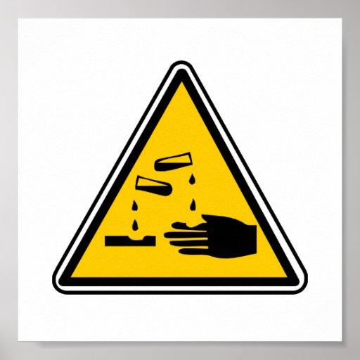 YEECH: (Real) Warning Sign Poster