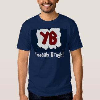 ¡Yeeeaah Brugh! (la camisa azul del logotipo)