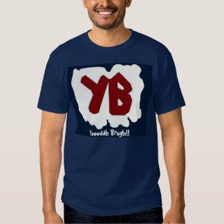 ¡Yeeeaah Brugh! (la camisa azul del logotipo 2)