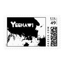 YEEHAW! Cowboy postage for your Western Party