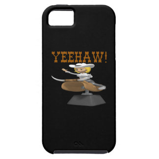 Yeehaw iPhone 5 Funda