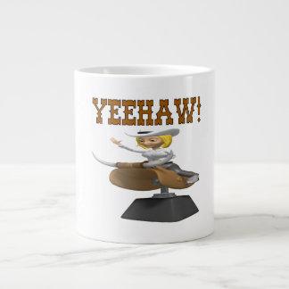 Yeehaw Giant Coffee Mug