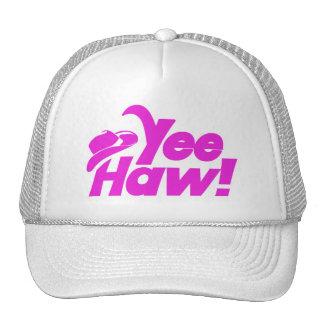 YeeHaw Gitty Up Cowgirl Trucker Hat