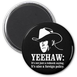 Yeehaw: Política exterior del campesino sureño Iman