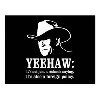 Yeehaw: Política exterior del campesino sureño Postal