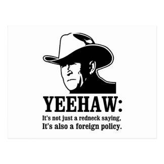 Yeehaw: Política exterior del campesino sureño Postales