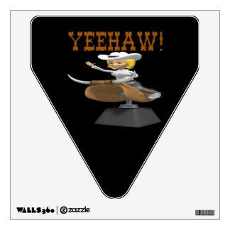Yeehaw Wall Decal