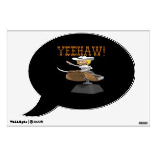 Yeehaw Wall Sticker