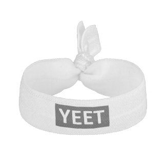 Yeet Dance Slang Teen Youth Swag YEET! LOL YOLO Hair Tie