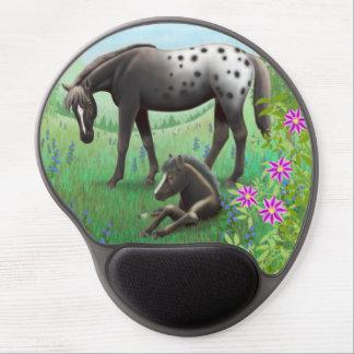 Yegua del Appaloosa y gel combinados Mousepad del  Alfombrilla De Ratón Con Gel
