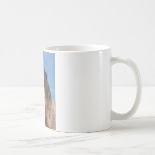 yegua del clydesdale taza