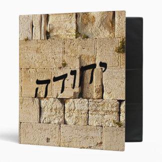 "Yehuda, Judah = HaKotel (la pared occidental) Carpeta 1"""