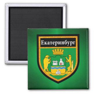 Yekaterinburg Flag Magnet