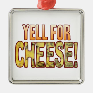 Yell For Blue Cheese Metal Ornament