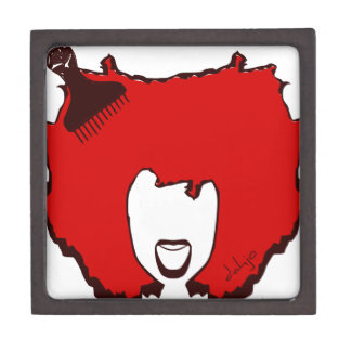 YELL OUT LOUD in RED Jewelry Box