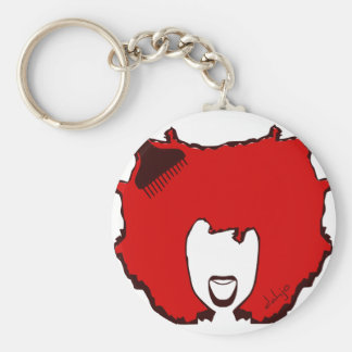 YELL OUT LOUD in RED Keychain
