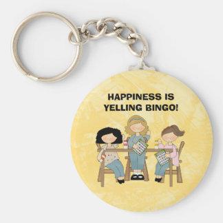 Yelling Bingo keychain
