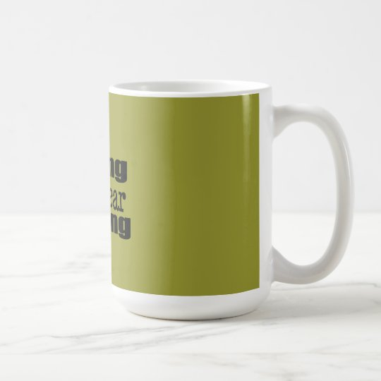 Yelling IS Fear Barking Coffee Mug