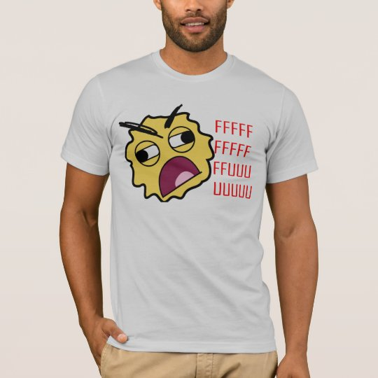 Yelling Smiley Face T-Shirt