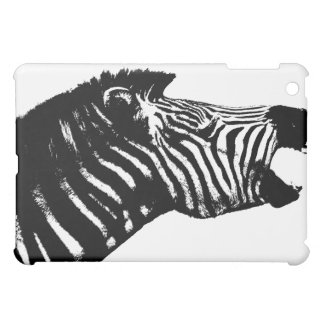 Yelling Zebra iPad Case
