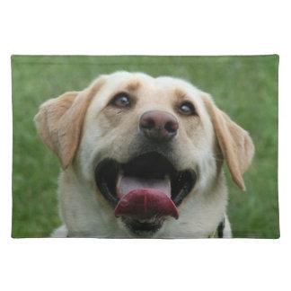 Yelllow Labrador Retriever Placemat