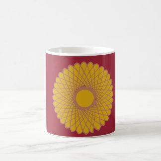 Yello Chrysanthemum Coffee Mug