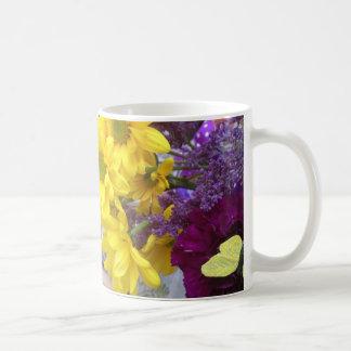 Yello Flowers Coffee Mug