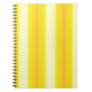 Yello Stripes Notebooks