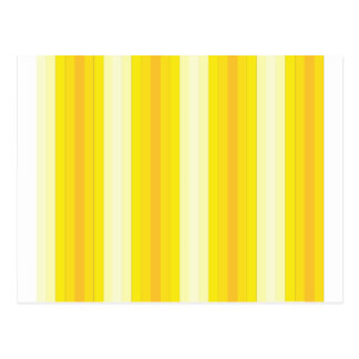Yello Stripes Postcard