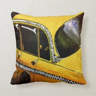 Yello Taxi Pillow