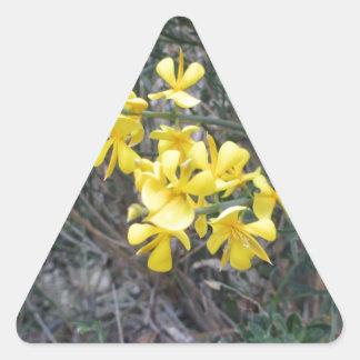 Yello Triangle Sticker
