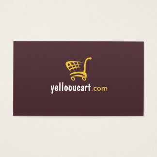 Yelloou Cart eCommerce Professional Business Card